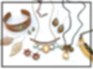Mix of different Burlap Sac jewellery.