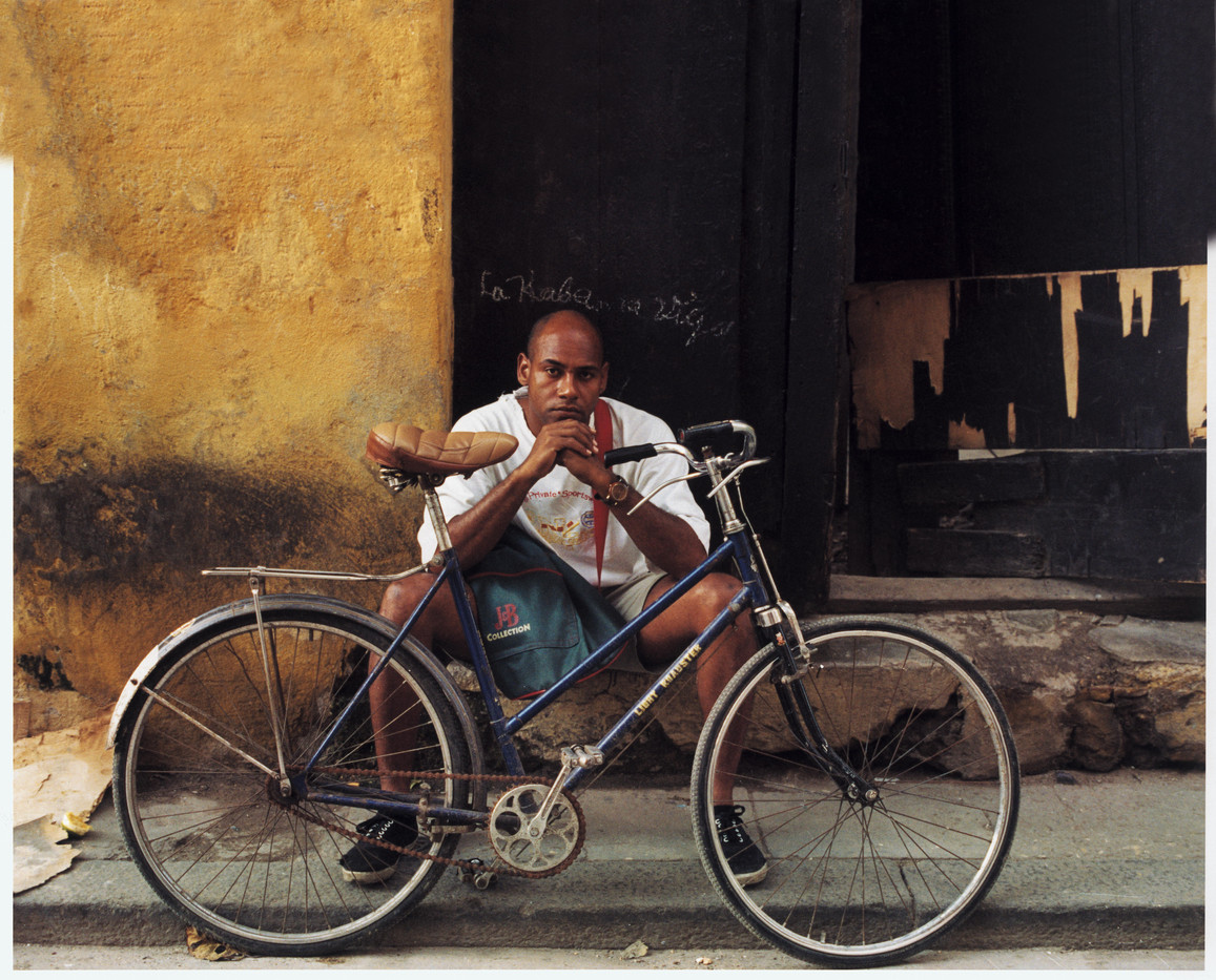 The bicyclist.