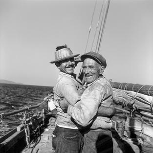 The captain and mate of the Eleftheria