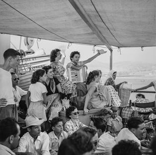 Deck Class aboard the Despina