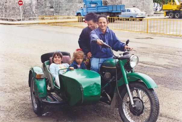The sidecar kids.