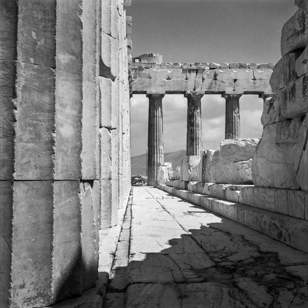 North colonnade of the Parthenon