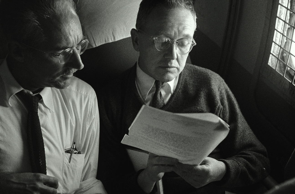 Walt Selig and Tom Jones