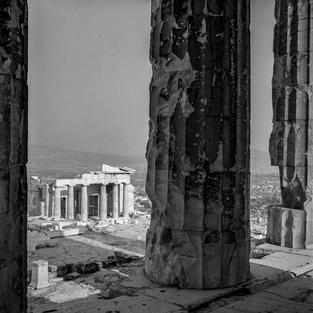 The Propylia from Parthenon