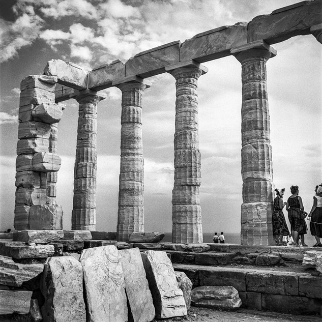 The Temple of Poseidon in Sounion