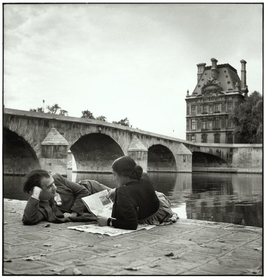 The Pont Royal and the Pavillon de Flore.