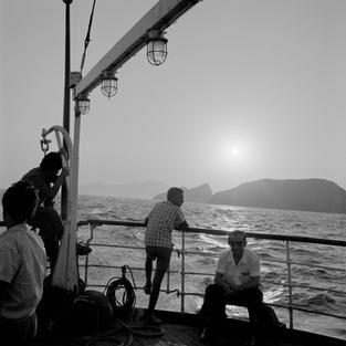 Evening at sea