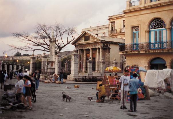 "The ""Templete"" of Old Havana."