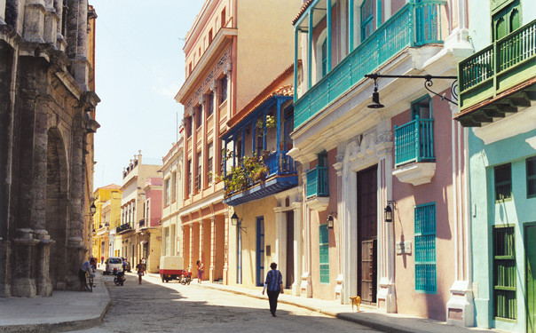 The colors of Old Havana.