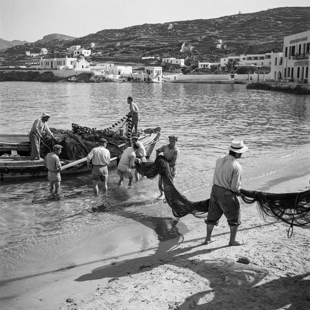 Unloading the nets