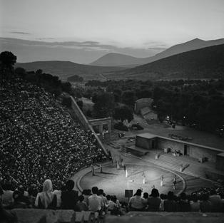 A performance of                      Euripides' play Hippolytos
