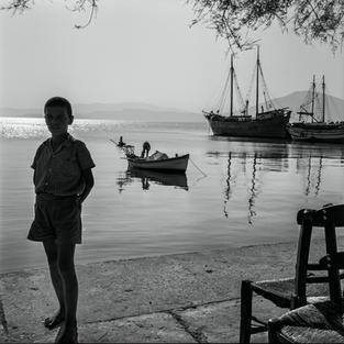 The harbor at Oreoi