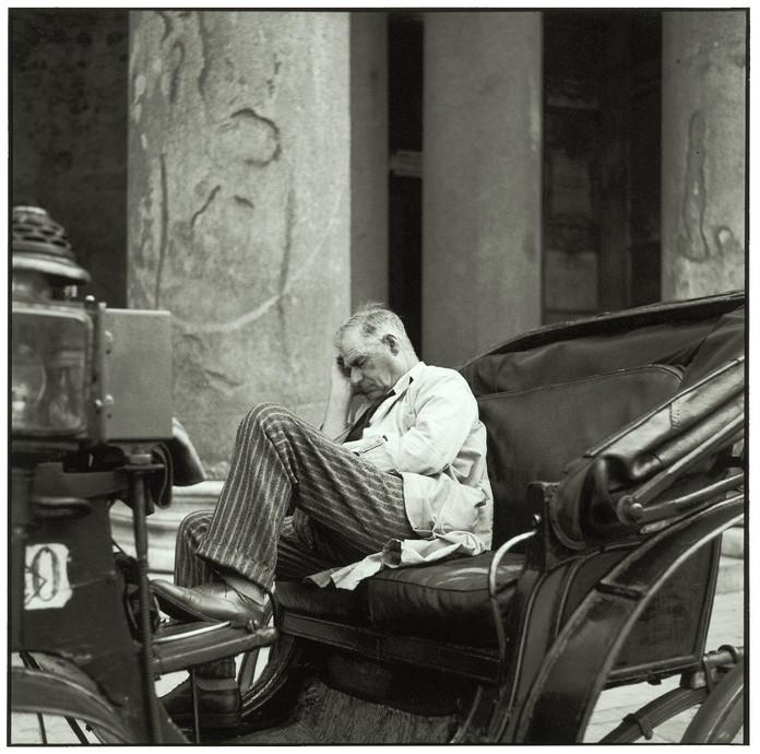 Siesta in Rome, 1955.