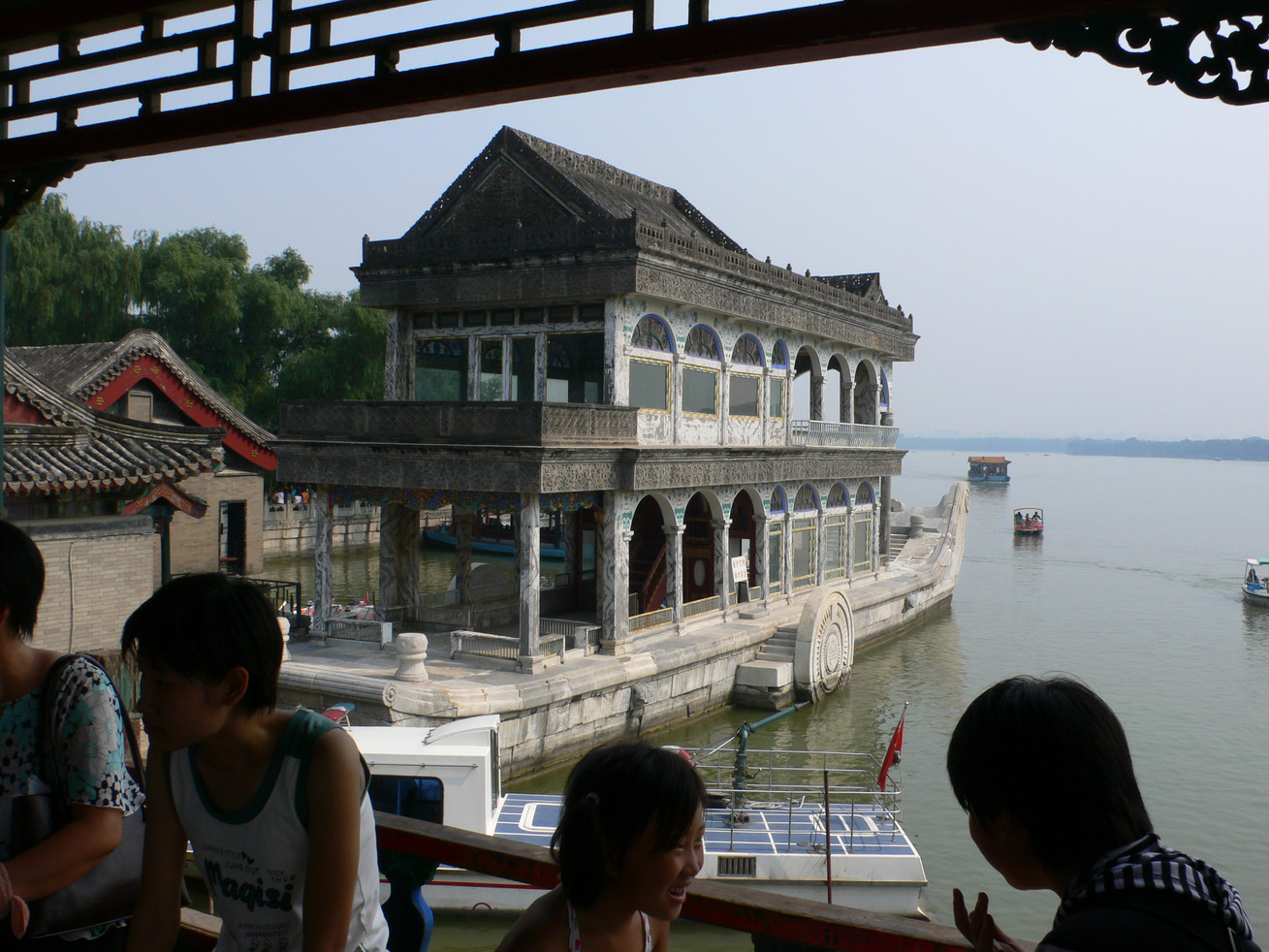 The Emperor's marble boat