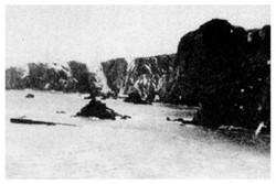 USS Truxton sinking 02-18-42