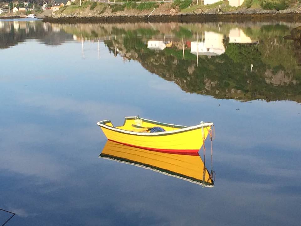 Burin Boat in harbour