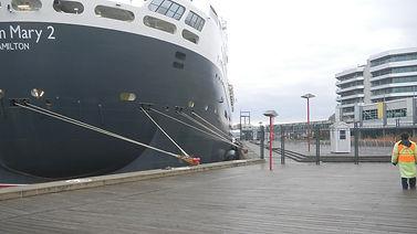 5 Queen Mary 2 Ocean Guard Foam Fenders