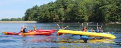 boating teens