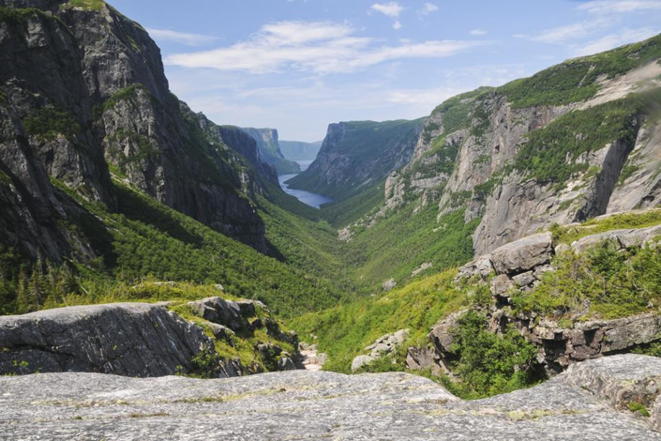 Western Brook Pond Gorge, Gros Morne NP,