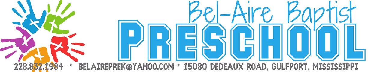 Bel-Aire Baptist Preschool Logo