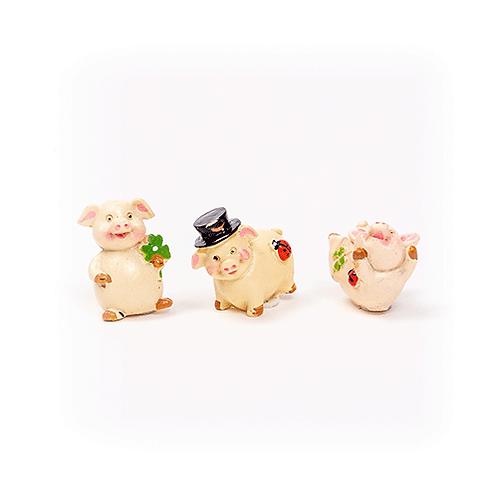 Schweinchen, 3cm, aus Polyresin