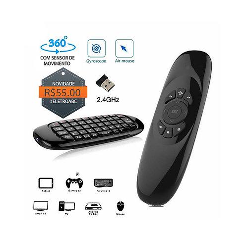 Controle Air Mouse Com Sensor De Movimento e Teclado