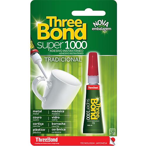 ADESIVO INSTANTANEO - TB SUPER 1000 2G