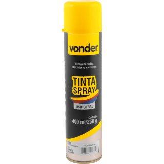 TINTA SPRAY AMARELO         400ML VONDER