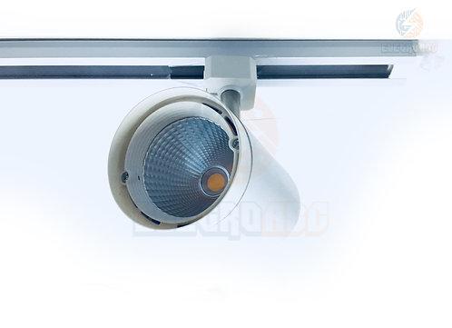 Luminária Spot LED para trilho BR 3500K 12W