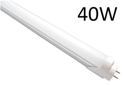 Lâmpada LED tubular T8 Bivolt 40 watts H.O 2,4 m leitoso 110V