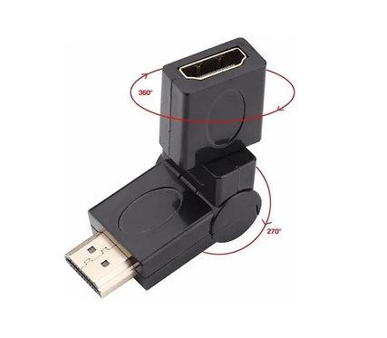 ADAPTADOR HDMI M X F 360 GRAUS