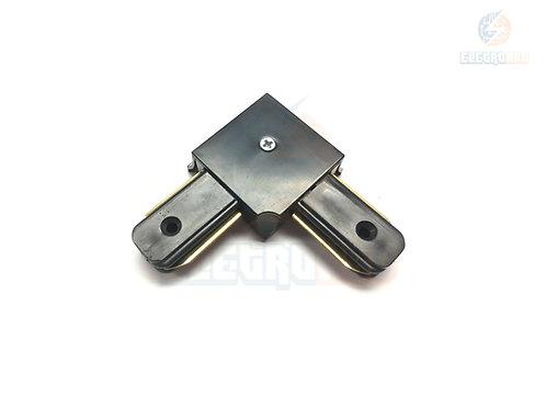 Conector em L para Trilho Eletrificado Preto