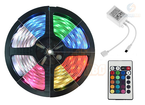 Fita LED RGB 5050 COM SILICONE