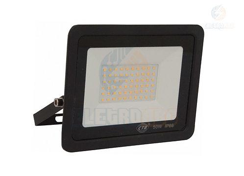 REFLETOR LED SLIM 50W PT/BF TIPO F