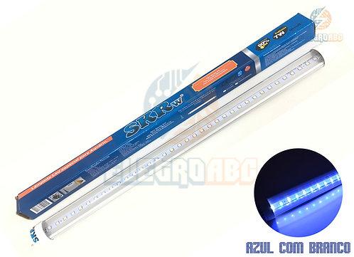 Lampada de LED SKRw Tubol.T8 7W 45cm Azul/BR