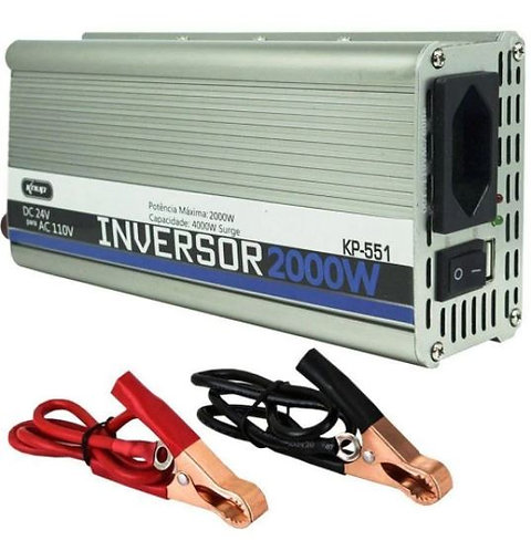 Inversor 24v/110 volts 2000 watts
