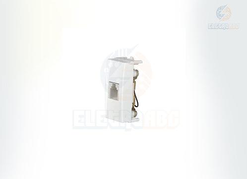 TOMADA TELEFONE RJ11 4FIOS EBONY SLEEK