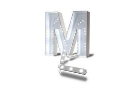 modulos de LED em Letra caixa