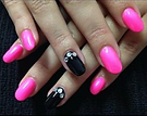 maniured nails