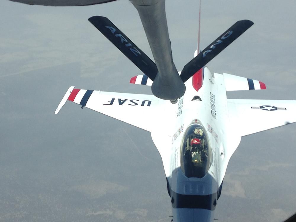 Altus AFB Crash Pad Refueling