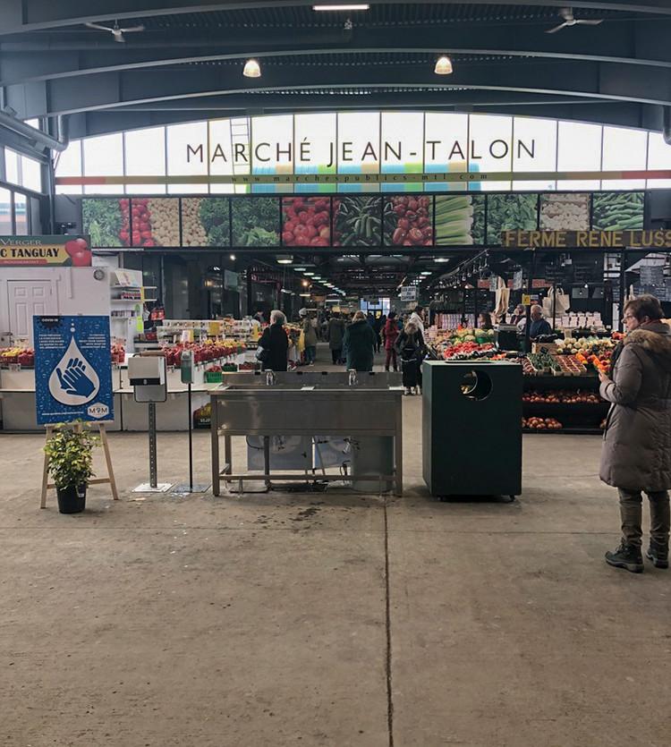 Jean Talon Market, March 28th