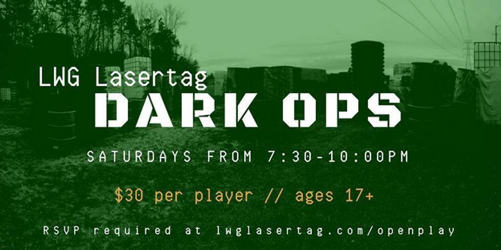DARK OPS After Dark Laser Tag