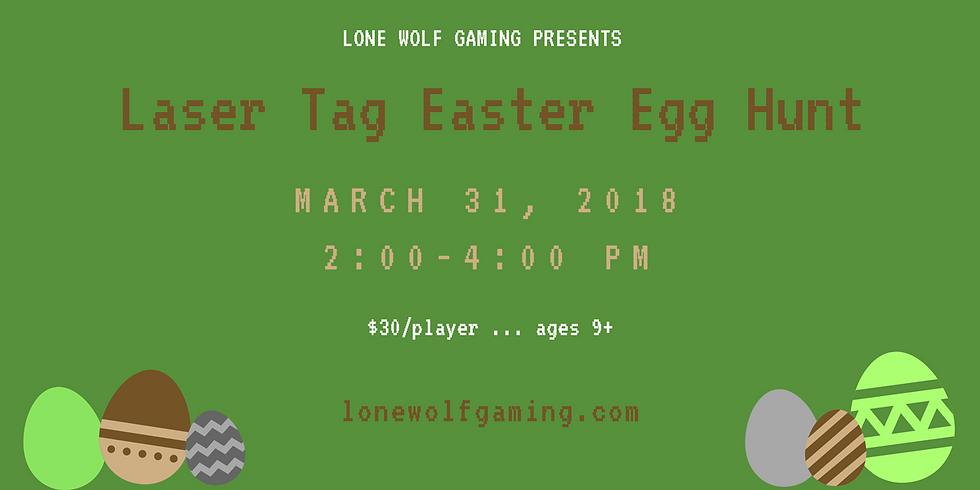 Laser Tag Easter Egg Hunt