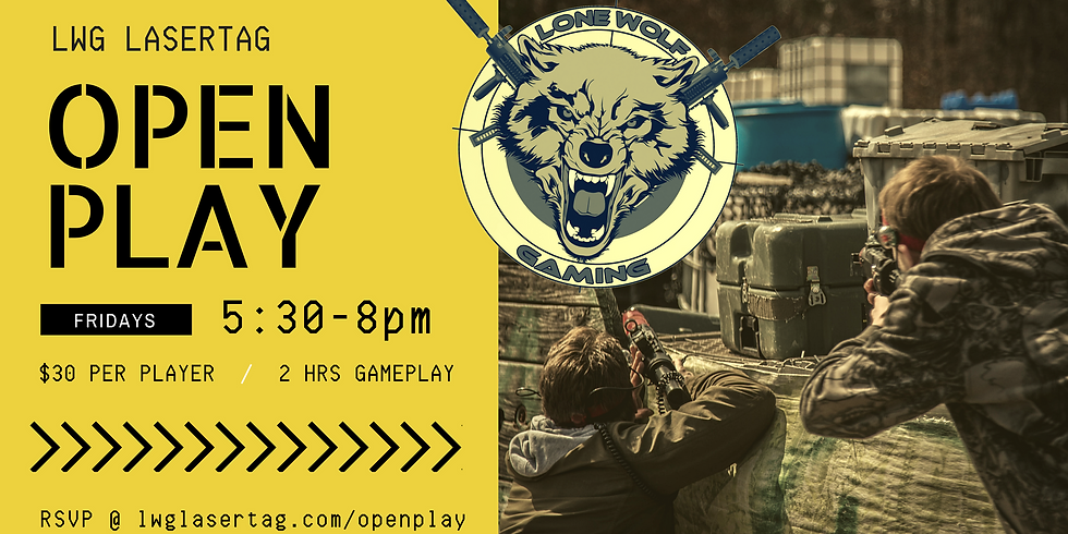OPEN PLAY Session 8/17