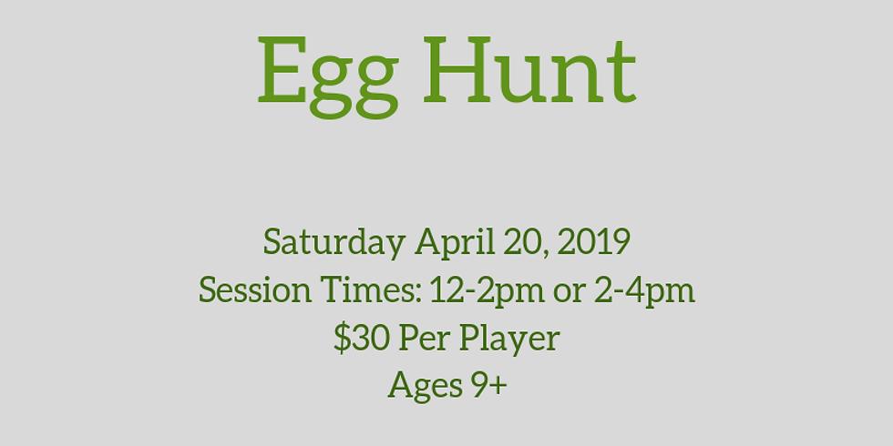Laser Tag Easter Egg Hunt CANCELED DUE TO RAIN