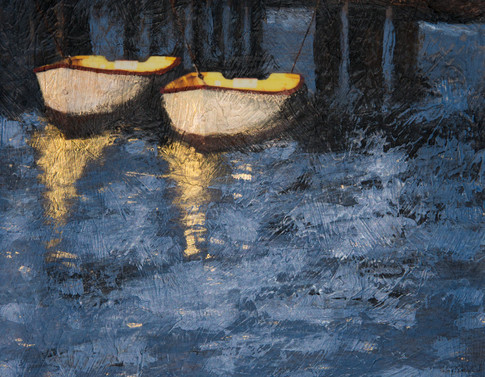 Tethered Boats (sold)