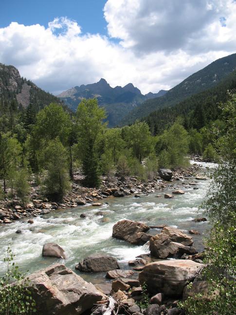 Animas River, San Juan Wilderness, Colorado