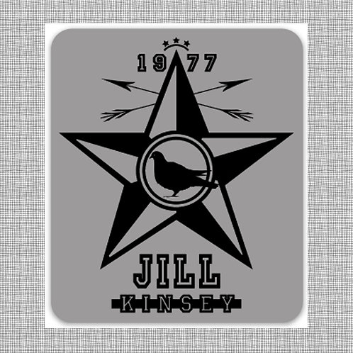 '1977 Star' - STICKER