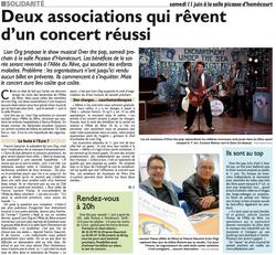 Concert Homécourt - Over The Pop