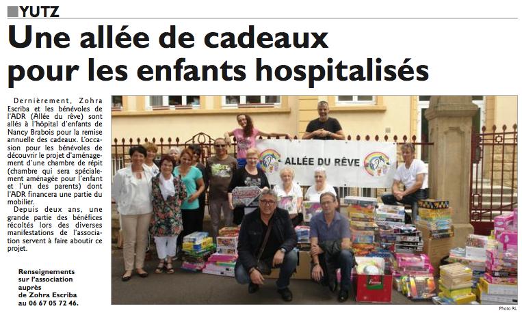 Hôpital d'enfants Nancy Brabois